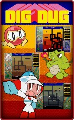 Dig Dug internet child safe games